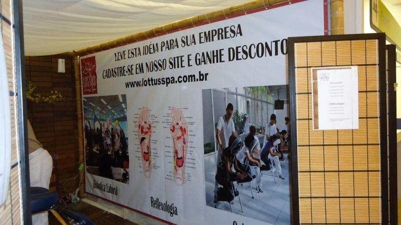 Banner Lona com Ilhós Vila Olímpia - Banner Lona Fachada