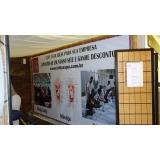 banner de lona com ilhós Butantã