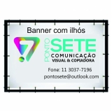 onde comprar banner de lona com ilhós Vila Madalena