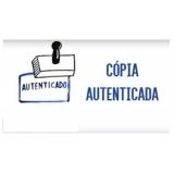 onde fazer autenticação de documentos Pacaembu